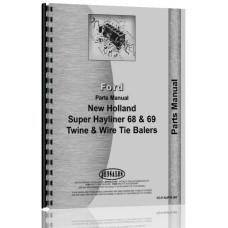 New Holland Super 68 Baler Parts Manual