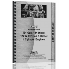 Huber M600, M650 Grader Ford Engine Service Manual