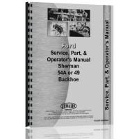 Ferguson TO20 Backhoe Attachment Operators Manual
