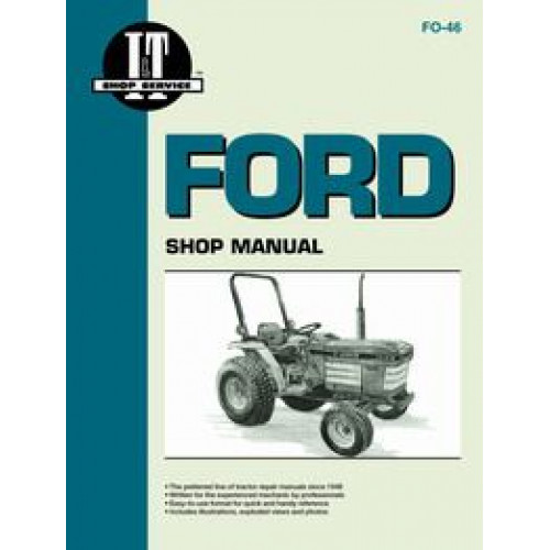 Ford 1720 Tractor Service Manual  It Shop