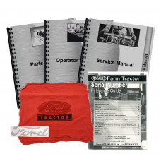 Ford 801 Deluxe Tractor Manual Kit
