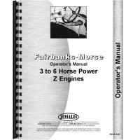Fairbanks Morse Type Z Hit & Miss Engine Operators Manual (Z 3 to 6 HP)