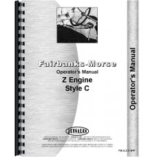 Fairbanks Morse ZC Hit & Miss Engine Operators Manual (ZC 3 HP)