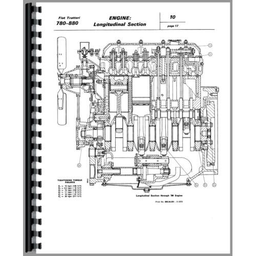fiat 780 tractor service manual rh jensales com Allis Chalmers Tractors New Holland Tractors
