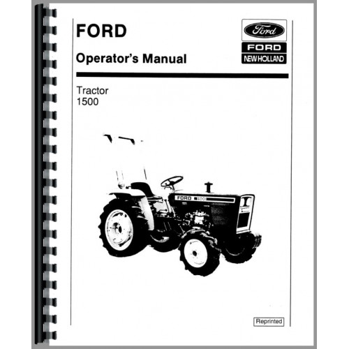 ford 1500 tractor operators manual rh jensales com Ford Fusion Ford Chevy Dodge