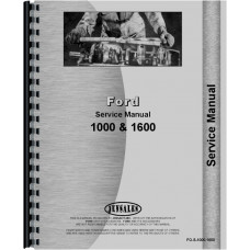 Ford 1600 Tractor Service Manual