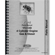 Ford 172 Engine Parts Manual