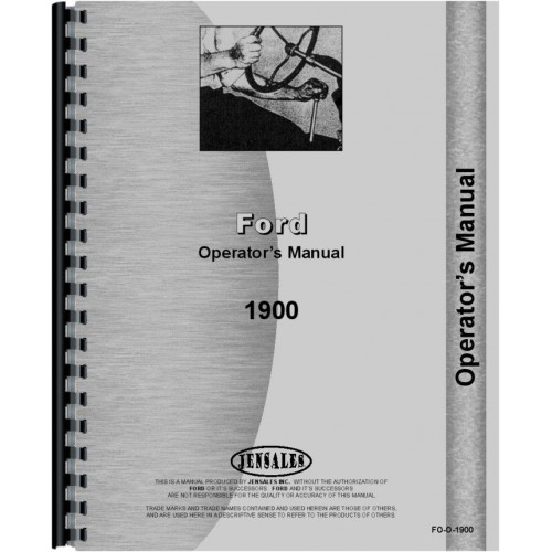 Ford 1900 tractor operators manual Ford 3000 Tractor Wiring Ford 3415 Wiring Diagram Ford 2120 Wiring Diagram on ford tractor wiring diagram 1900