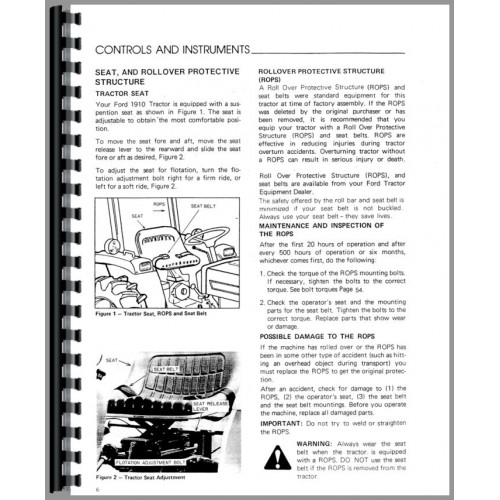 ford 1910 tractor operators manualFord 1910 Tractor Ignition Wiring Diagram #9