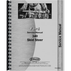 Ford 340 Skid Steer Service Manual