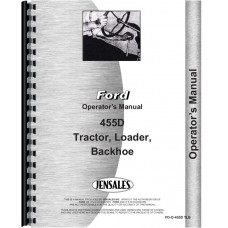 Ford 455D Industrial Tractor Operators Manual