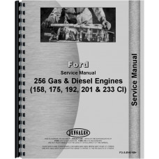 Ford 5000 Engine Service Manual (1965-1975)
