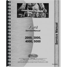 Ford 5000 Tractor Data Manual (Data)