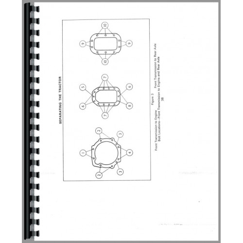 ford 4000 tractor data manual  data