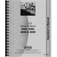 Ford 4110 Tractor Operators Manual (1968-1975) (3 Cyl)