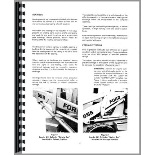 ford 555 tractor loader backhoe service manual rh jensales com Ford 555 Backhoe Loader Ford 555 Backhoe Hydraulic Diagram