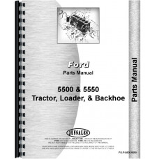 Ford 5550 Industrial Tractor Parts Manual