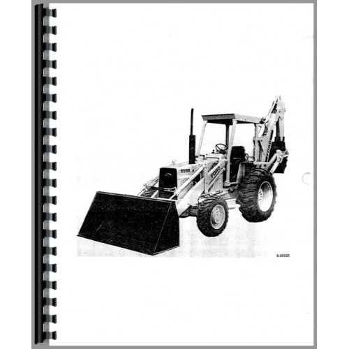 ford 555b industrial tractor operators manual b ford backhoe wiring  diagram on 580 e wiring diagram