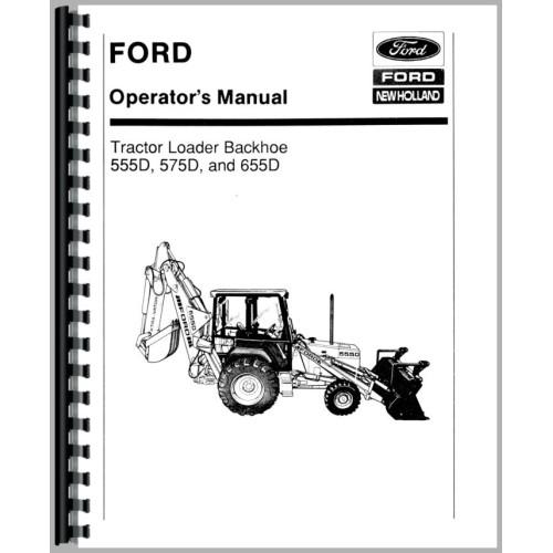 ford 575d tractor loader backhoe operators manual rh jensales com Ford 575D Backhoe Parts Ford 575D Backhoe Parts
