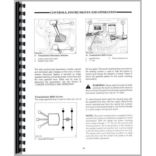 ford 575d tractor loader backhoe operators manual rh jensales com Ford 575D Backhoe Parts Diagrams 1995 Ford 575D Backhoe