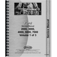 Ford 4110 Tractor Service Manual (1965-1974)