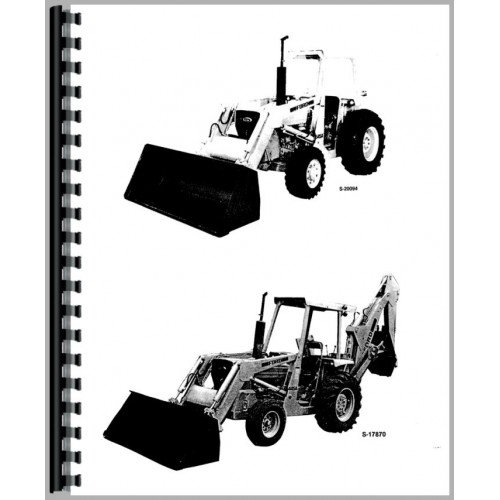 ford 545a industrial tractor operators manual rh jensales com Ford 545A Tractor ASIST with Front-Wheel Ford 545A Tractor Manual