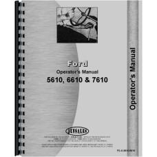 Ford 6610 Tractor Operators Manual (1983-1985) (Diesel)