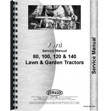 Ford 125 Lawn & Garden Tractor Service Manual