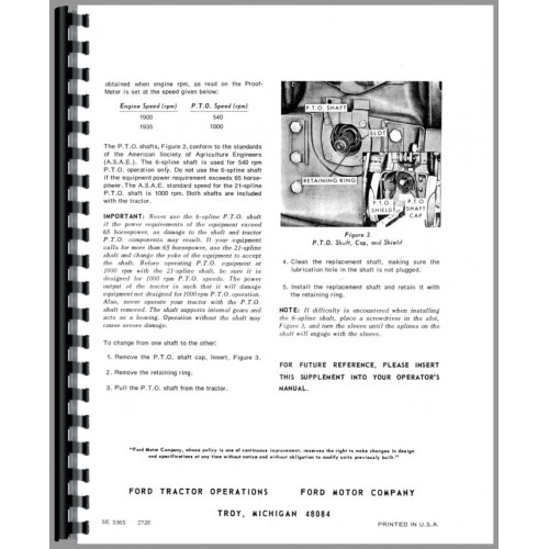 Ford 8000 Tractor Manual_88137_3 500x500 8000 tractor operators manual