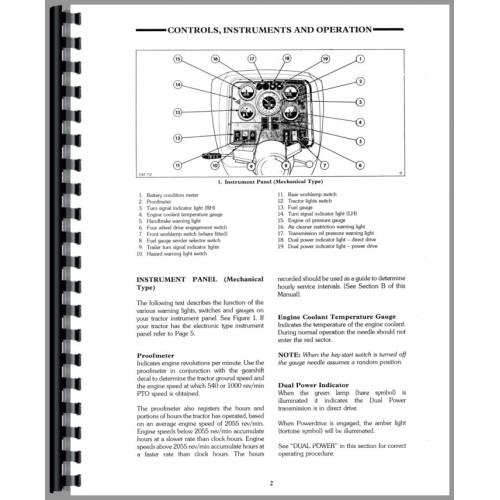 ford 8630 tractor operators manual rh jensales com