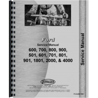 Ford 700 Tractor Service Manual (1954-1991)