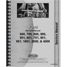 Ford 4140 Tractor Service Manual (1962-1964) (4 Cyl)