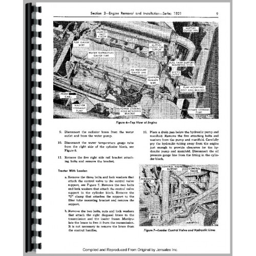 ford 4000 tractor service manual 1962 1964 4 cyl rh jensales com ford 4000 manuel ford 4000 manual free download