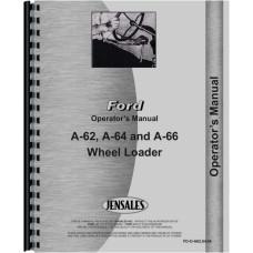 Ford A64 Wheel Loader Operators Manual