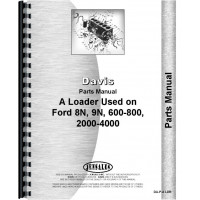 Ford 700 Davis A1 Loader Attachment Parts Manual