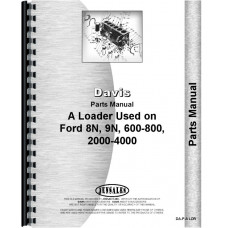 Ford 8N Davis A1 Loader Attachment Parts Manual (Attachment)