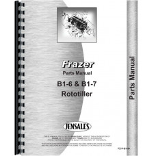 Image of Frazer B1-6, B1-7 Roto-Tiller Parts Manual