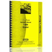 Galion T-600 Grader Operators Manual