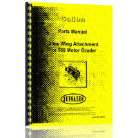 Galion 160 Grader Attachment Parts Manual