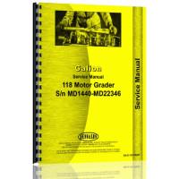 Galion 118 Grader Service Manual (SN# MD14401-MD22346)