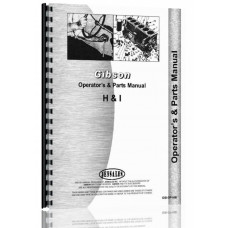 Gibson H Tractor Operators & Parts Manual