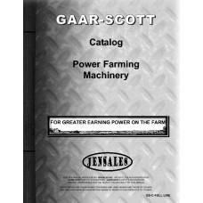 Gaar-Scott Sales Catalog Catalog