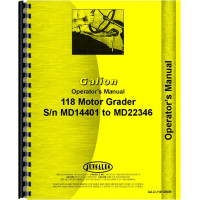 Galion 118 Grader Operators Manual (SN# MD14401-MD22346)