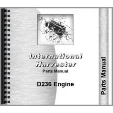 International Harvester D236 Engine Parts Manual