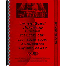 Hough H-60B Pay Loader IH Engine Service Manual (Engine)