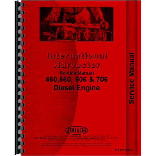 Hough H-60 Pay Loader IH Engine Service Manual
