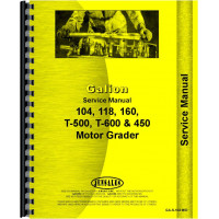 Galion 160 Grader Service Manual (SN# 01001-03083)