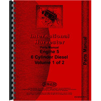 International Harvester 5488 Tractor Engine Parts Manual