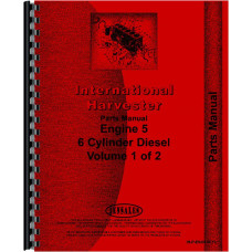 International Harvester 186 Hydro Tractor Engine Parts Manual (Diesel)