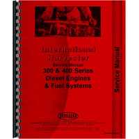 International Harvester 1066 Tractor Engine Service Manual (1971-1976)